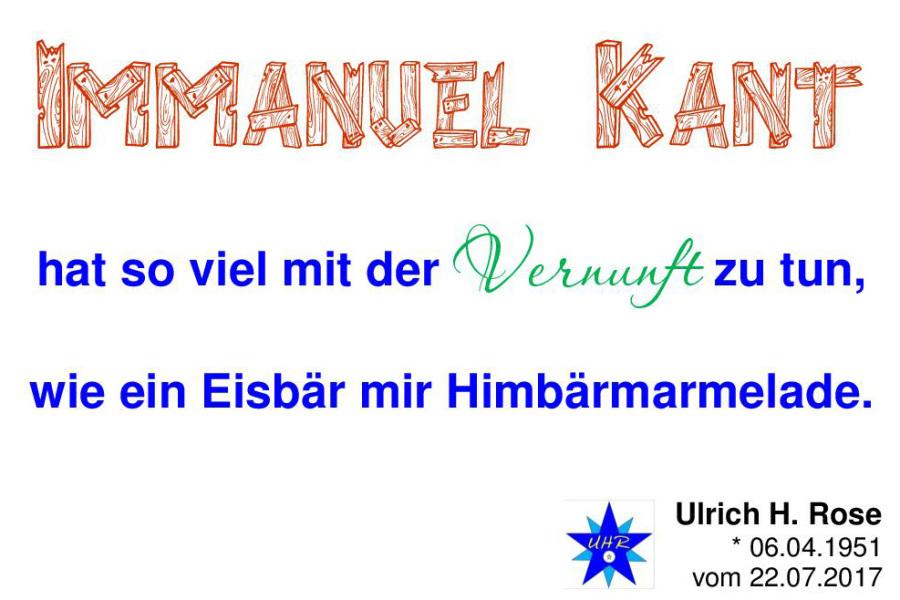 Definition Intelligenz Von Ulrich H Rose Immanuel Kant