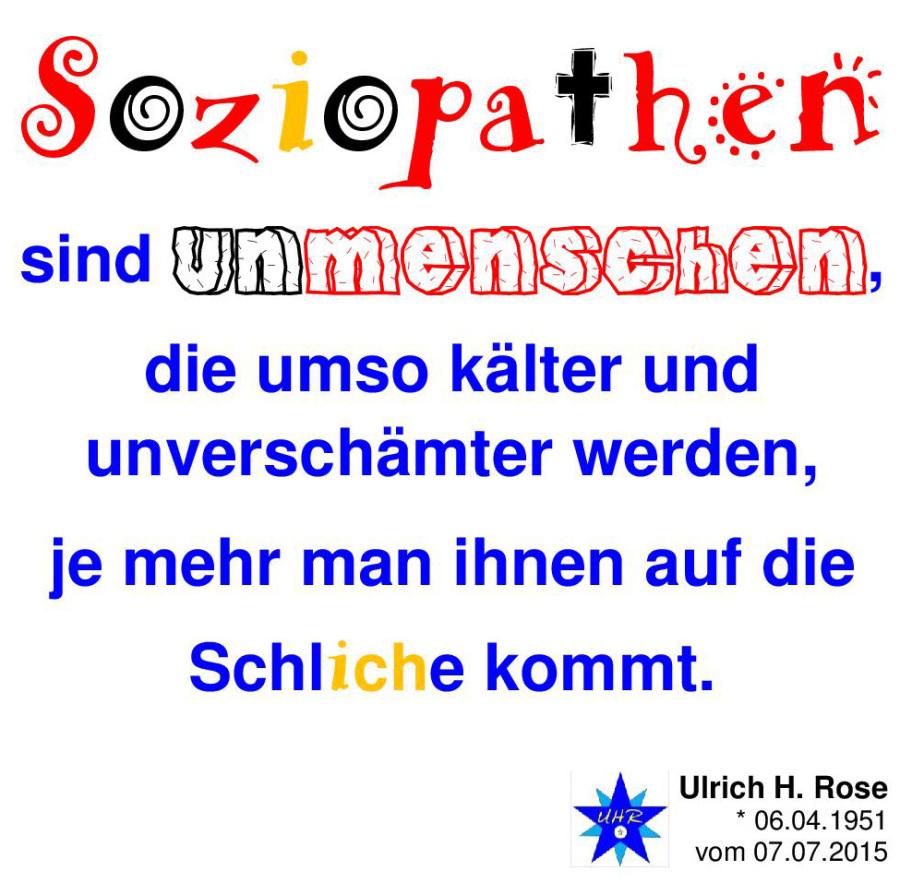 Ein Soziopath Ist Jemand Der Nicht Zugeben Kann Und Der Sich Nicht
